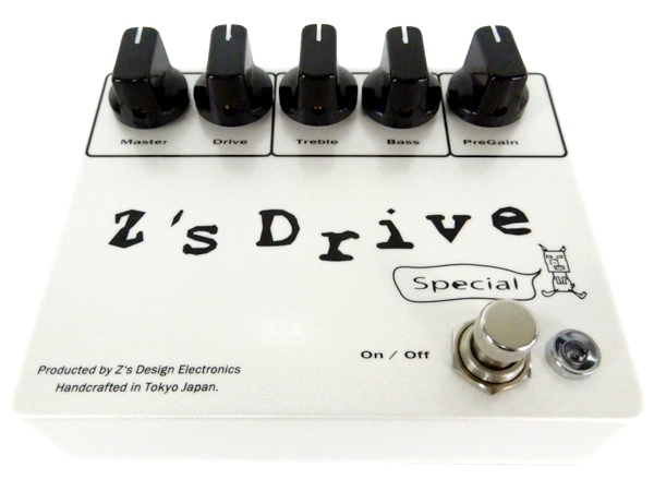 Z's Drive Special オーバードライブペダル エフェクター ギター 音響