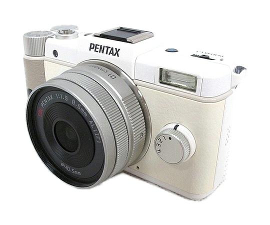 RICOH リコー PENTAX Q レンズキット PENTAX-01 STANDARD PRIME ホワイト