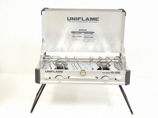 UNIFLAME ユニフレーム US-1900 ツインバーナー