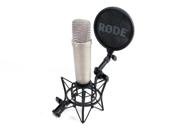 RODE NT1-A コンデンサマイク ポップガード ショックマウント 付 音響 機材