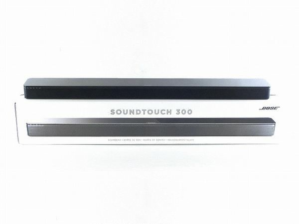 BOSE SoundTouch 300 soundbar サウンドバー スピーカー ブラック