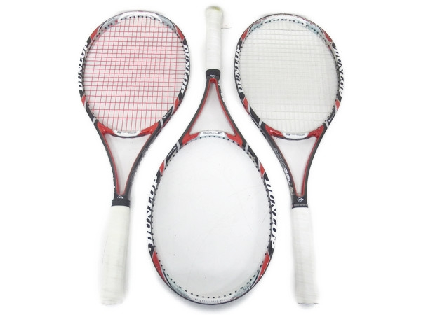 DUNLOP ダンロップ エアロジェル 4D 300 テニス ラケット 3本 セット 硬式 スポーツ