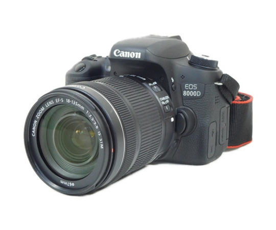 Canon キャノン 一眼レフ EOS 8000D レンズキット EF-S18-135 IS STM カメラ デジタル