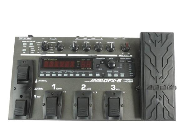 ZOOM ズーム GFX-5 ギター用 マルチエフェクター 音響機材