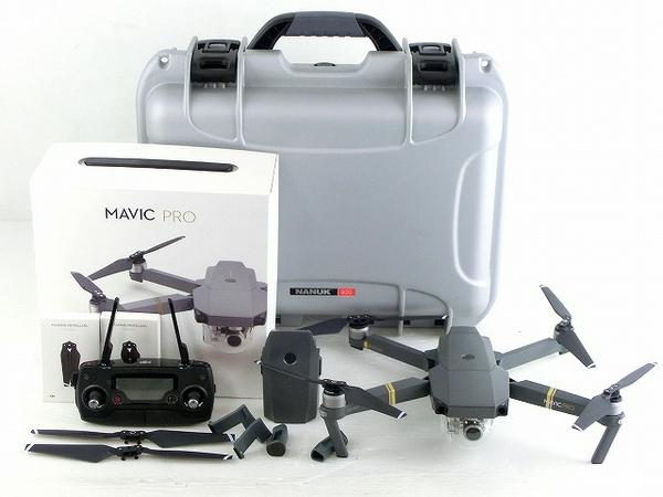DJI Mavic Pro ドローン NANUK 920 耐衝撃防水ケース付き