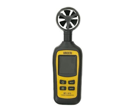 URCERI 風速計 MT-915 温度計内蔵 アウトドア スポーツ ドローン 風速測定