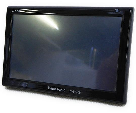 Panasonic パナソニック Gorilla CN-GP550D SSDカーナビ ポータブル 5型