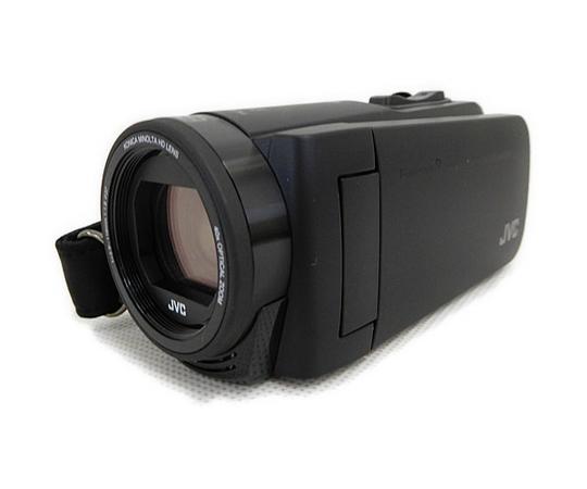 JVC ケンウッド 防水 ビデオカメラ Everio R GZ-RX670 ハイビジョン Wi-Fi 内蔵メモリ 防水 ブラック