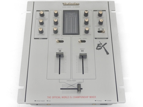 Technics テクニクス  SH-EX1200 DJ用 オーディオ ミキサー シルバー
