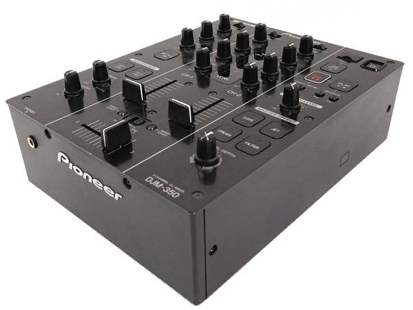 PIONEER パイオニア ミキサー DJM-350 DJ ミキサー ブラック