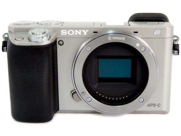 SONY ソニー α6000 ボディ ILCE-6000 シルバー  ミラーレス 一眼 カメラ