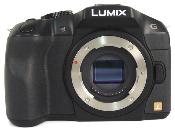 Panasonic パナソニック LUMIX G6 ボディ ブラック DMC-G6-K デジタル一眼レフ カメラ