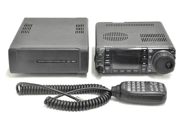 icom IC-7000M AT-180 無線機 オートアンテナチューナー セット