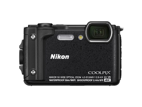 Nikon ニコン 防水カメラ COOLPIX W300 ブラック 防水 防塵 水深30m 4K動画 コンパクト デジタルカメラ