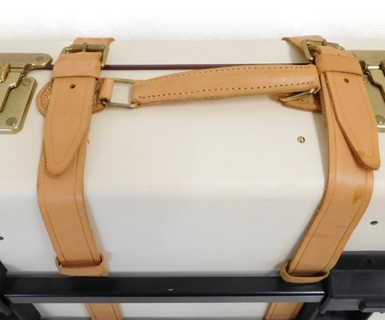 Globe trotter グローブトロッター 21インチ スーツケース GTSAFIN21TC SAFARI サファリ 2輪トロリーケース ヴァルカンファイバー 2泊3日用