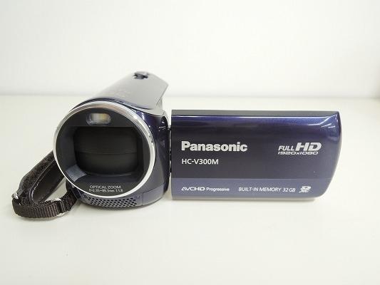 Panasonic パナソニック HC-V300M-A デジタルハイビジョンビデオカメラ ブルー