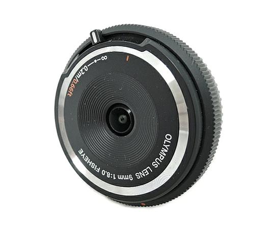 OLYMPUS オリンパス 9mm F8.0 Fisheye BCL-0980 ボディーキャップ レンズ カメラ 魚眼 ブラック