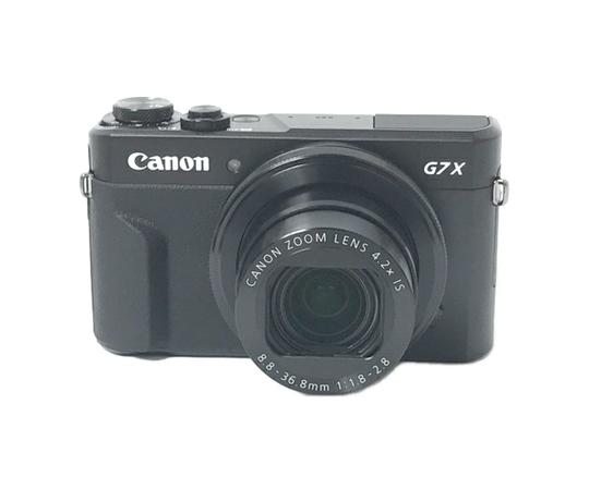 Canon キャノン デジタルカメラ Power Shot G7X Mark II ブラック コンデジ デジカメ 夜景