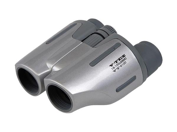Kenko ケンコー 双眼鏡 V-TEX 18倍~100倍 28口径 シルバー VT-8100 ポロプリズム式