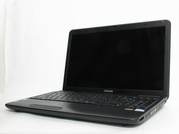 TOSHIBA dynabook Satellite B350/W2FB Pentium P6200 2.13GHz 4GB HDD320GB Win7 Home 64bit 15.6型 ノートパソコン ブラック