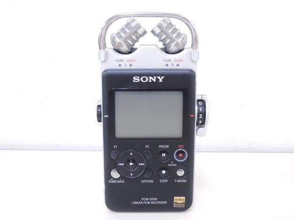 SONY ソニー PCM-D100 リニアPCMレコーダー ICレコーダー