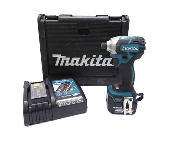 makita マキタ TD137DRMX インパクトドライバ 14.4V 4Ah 青 電動工具