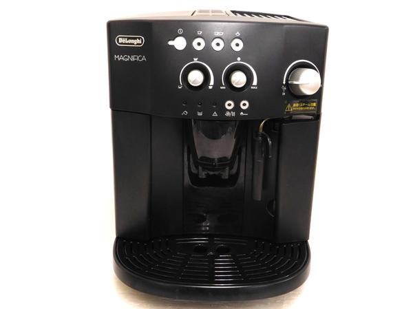 DeLonghi デロンギ MAGNIFICA ESAM1000SJ エスプレッソマシン コーヒーメーカー ブラック