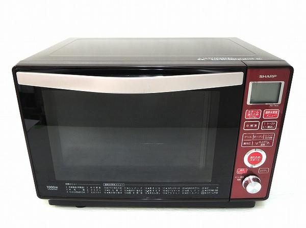 SHARP シャープ RE-T800-R 過熱水蒸気 オーブンレンジ レッド系