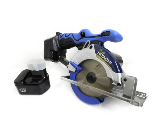 日立工機 12V コードレス 丸のこ 充電式 刃径125mm 1.5Ah 予備バッテリー付 丸ノコ マルノコ 丸鋸 DIY