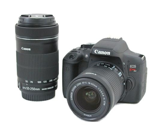Canon キヤノン 一眼 レフ EOS Kiss X8i ダブルズームキット デジタル カメラ