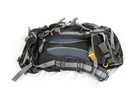 登山セット 男性用 ザック・トレッキングブーツ・ポール 26.5cm バッグパック 登山靴 杖 ステッキ