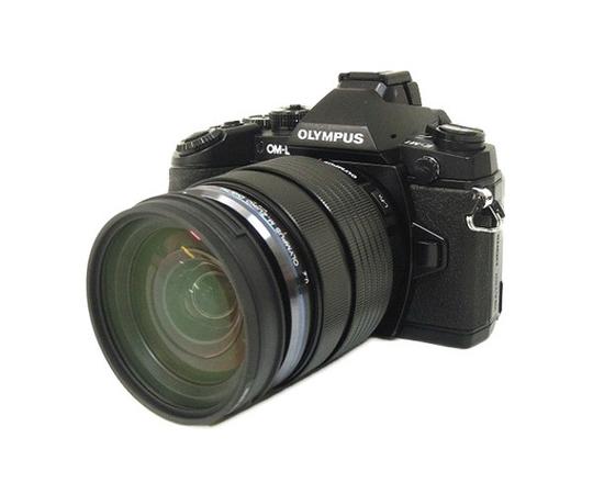 OLYMPUS オリンパス ミラーレス一眼 OM-D E-M1 12-40mm F2.8 レンズキット カメラ ブラック
