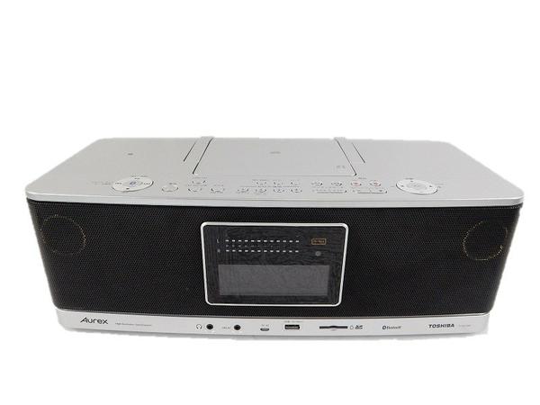 TOSHIBA 東芝 Aurex TY-AH1000(S) SD/USB/CDラジオ ハイレゾ対応