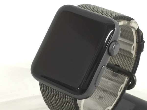 Apple Watch Series 2 42mm MP0H2J/A スペースグレイ ブラックウーブンナイロン