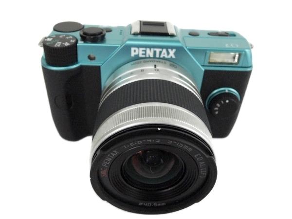 リコーイメージング PENTAX Q7 ズームレンズキット ブルー/ホワイト 053