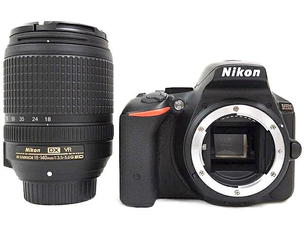 Nikon ニコン 一眼レフ D5500 18-140 VR レンズキット ブラック デジタル カメラ