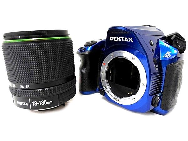 RICOH リコーイメージング PENTAX K-30 18-135 レンズキット カメラ デジタル一眼レフ クリスタルブルー