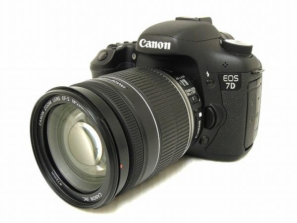 Canon キヤノン EOS 7D EF-S18-200 IS レンズキット デジタル一眼
