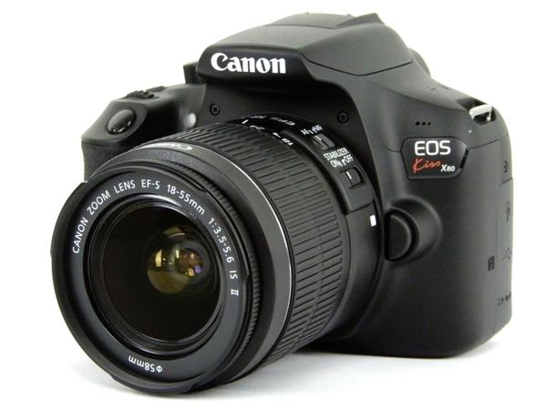 Canon キャノン 一眼レフ EOS Kiss X80 レンズキット EF-S18-55 IS II デジタル カメラ