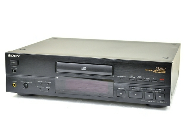 SONY ソニー CDP-333ESJ CDプレイヤー