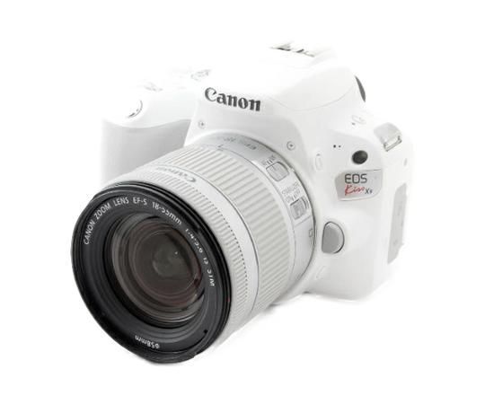 Canon キヤノン 一眼レフ EOS Kiss X9 EF-S 18-55 IS STM Kit デジタル カメラ ホワイト