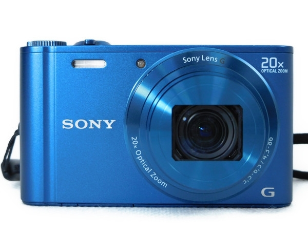SONY ソニー Cyber-shot WX300 DSC-WX300 L デジタルカメラ コンデジ ブルー